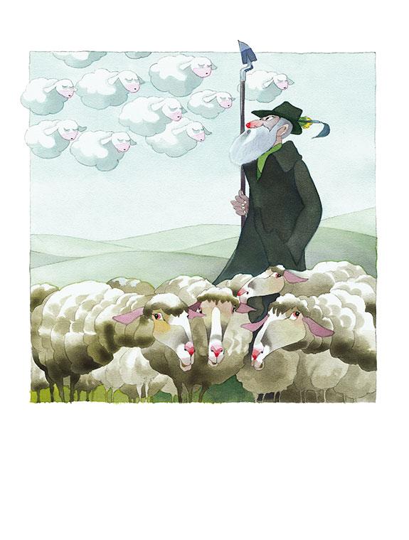 Marianne-Strauß-Stiftung Kalender - Schäfchenwolken