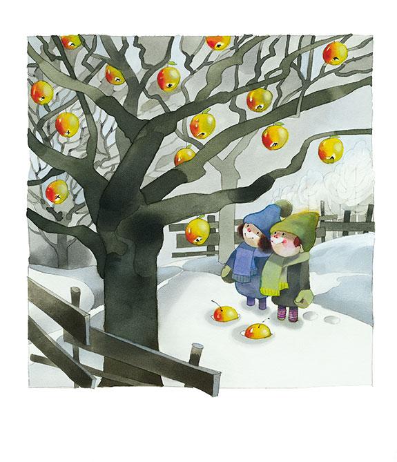 MarianneStrauß-Stiftung Kalender - Winterapfel