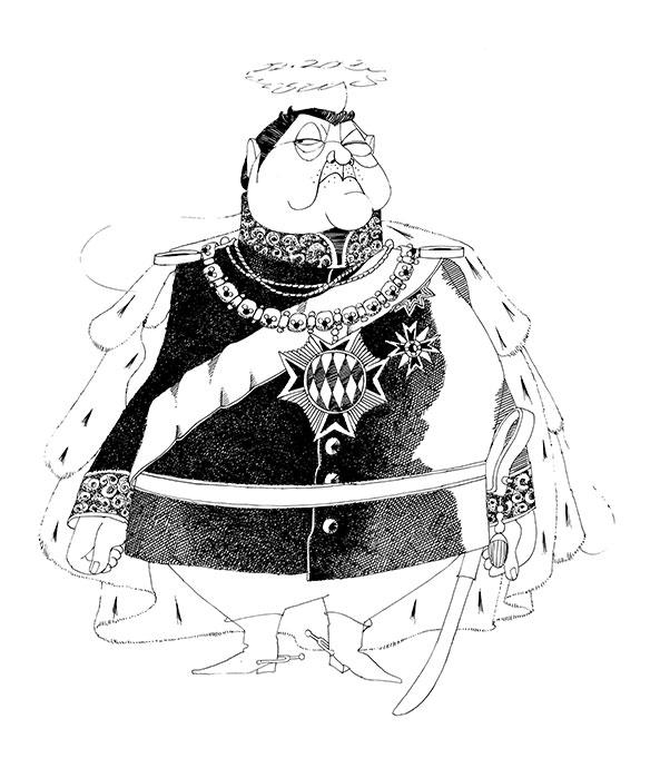 König Franz Josef Strauss