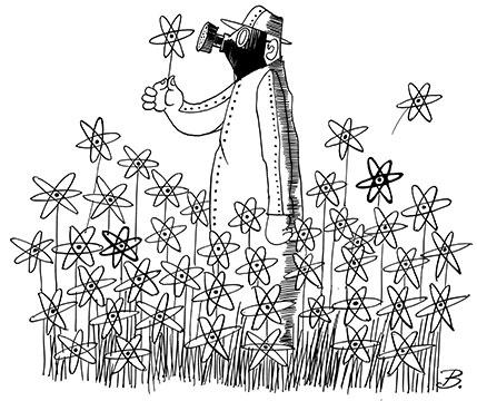 Die Blüte der Atomkraft