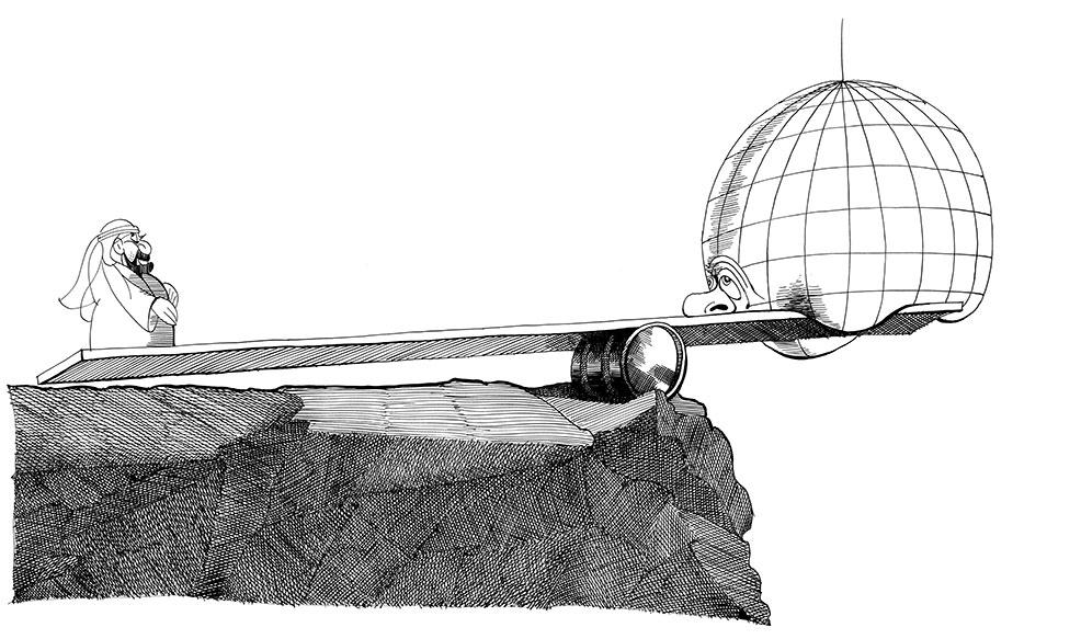 Der Punkt des Archimedes