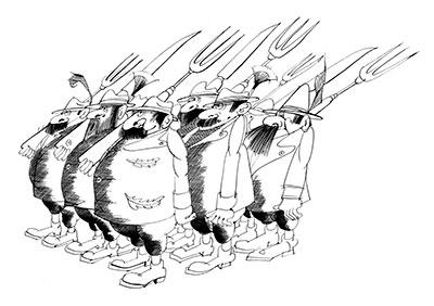 Bauern-Streitkräfte