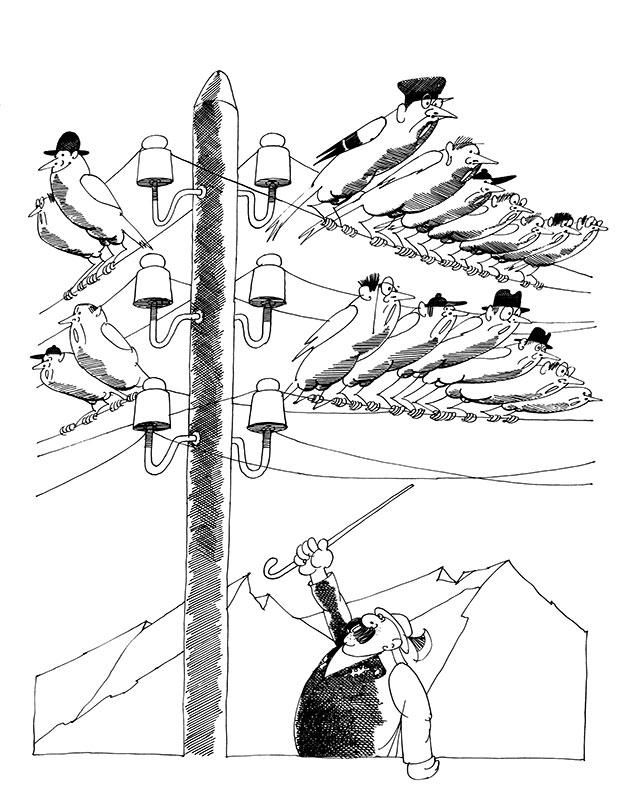 Preußische Zugvögel